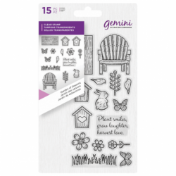 Gemini Clear Stamp - Garden...