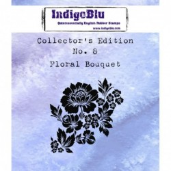 IndigoBlu Collectors Edition - Floral Bouquet Stamp