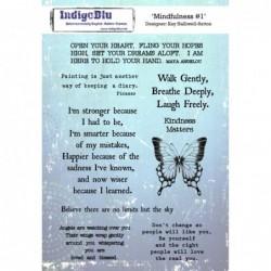 IndigoBlu Mindfulness Rubber Stamp