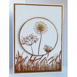 IndigoBlu Stylised Flowers Card1